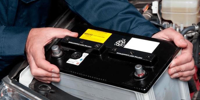 La batería del vehículo