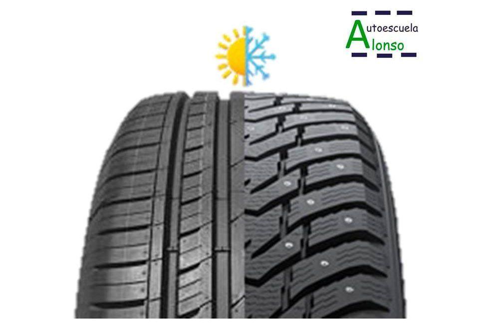 Neumático de invierno vs. neumático de verano
